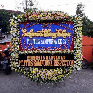 Ulang tahun, Anniversary, bunga ultah, bunga papan